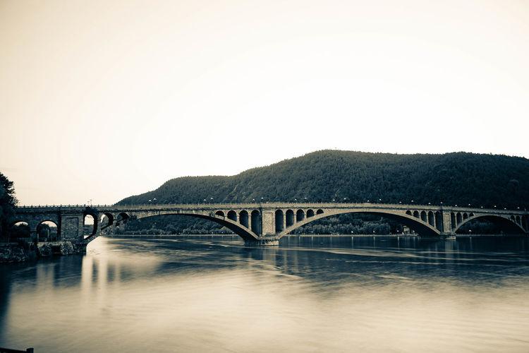 龙门大桥 Water City Bridge - Man Made Structure Sky Architecture Built Structure