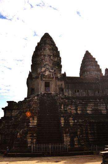 The majestic Angkor Wat temple Angkor Wat Temple Majestic Cambodia