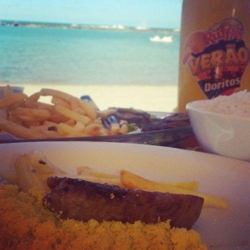 Bora Almoçar.. BarradeSãoMiguel Beach Alagoas Brazil World Brasil Amazing