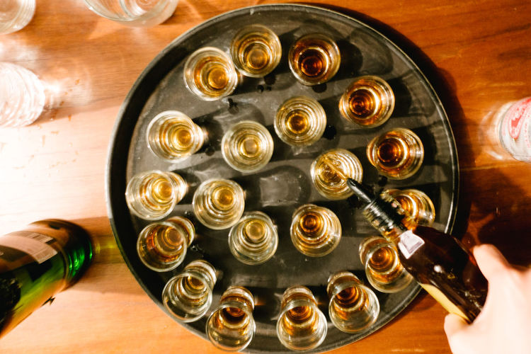 Alcohol Bottle Close-up Day Drink Drinking Glass Food And Drink High Angle View Indoors  No People Table Wine