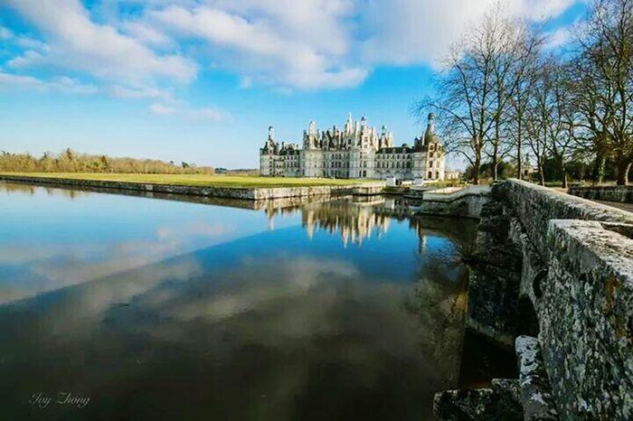France Chateau De Chambord Chambord Love Life Ivyzhong Hello World Bulesky
