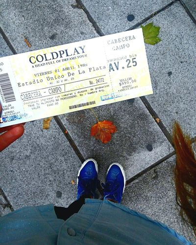 Estoy feliz, feliz, feliz! Coldplay Concert  Coldplayers ColdplayAHFOD ColdplayArgentina2016