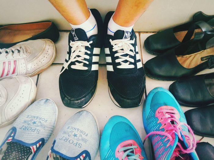 Shoe Human Leg Fashion Lifestyles Day Men People High Angle View Photography Themes