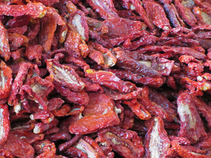 Red dried chili peppers background . Tuscany, Italy Cuisine Culinary Diet Hot Red Tuscany Vegetarian Food Arrangement Background Bunch Capsicum Cayenne Chili  Dried Food Gourmet Group Ingredient Italy Paprika Pepper Raw Food Spice Tasty Vegetable