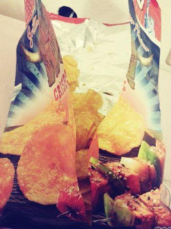 Yammy!!  Chip Hungry Scho✌
