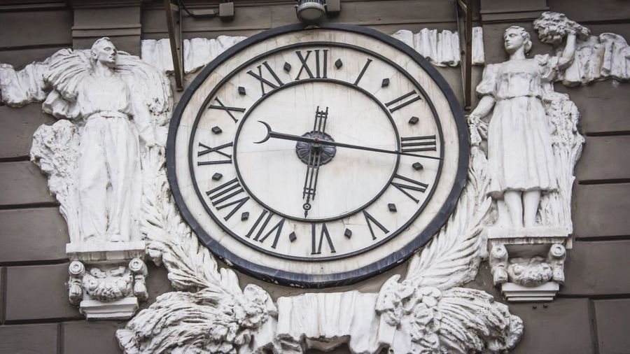 Clock Time Art