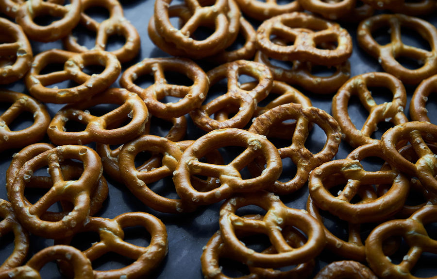 Salted Snack Backgrounds Brezel Close-up Day Food Food And Drink Freshness Full Frame Group Of Objects Indoors  Italian Food No People Pastry Ready-to-eat Twist