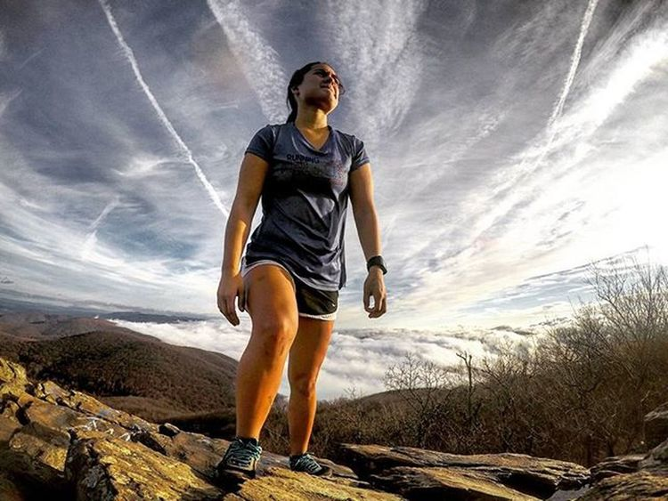 Climb mountains not so the world can see you, but so you can see the world 😊 Picoftheday Photooftheday Exploreva Instagood Outdoorwomen Outdoorlife Neverstopexploring  Thatadventurelife AdventureThatIsLife Shenandoah Blueridgeparkway Alpinebabes Mountaingirls Runnergirl Runhappy Gopro Virginia Goprohero4 Goprooftheday Humpbackrock Inspiration Quote Radgirlslife Thiswanderer Hiking