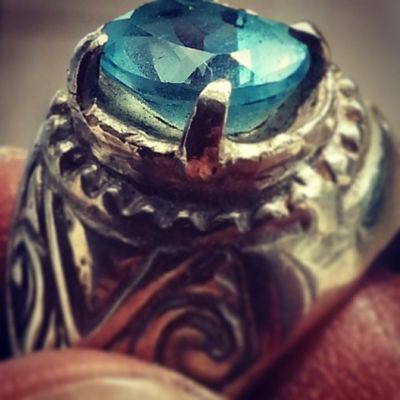 Blue Topaz Stone Instagramers  collection