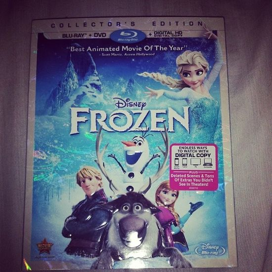 This is about to go dowwwn!!! Beenwaiting Bestboyfriendever Frozen DVD youcantborrowit