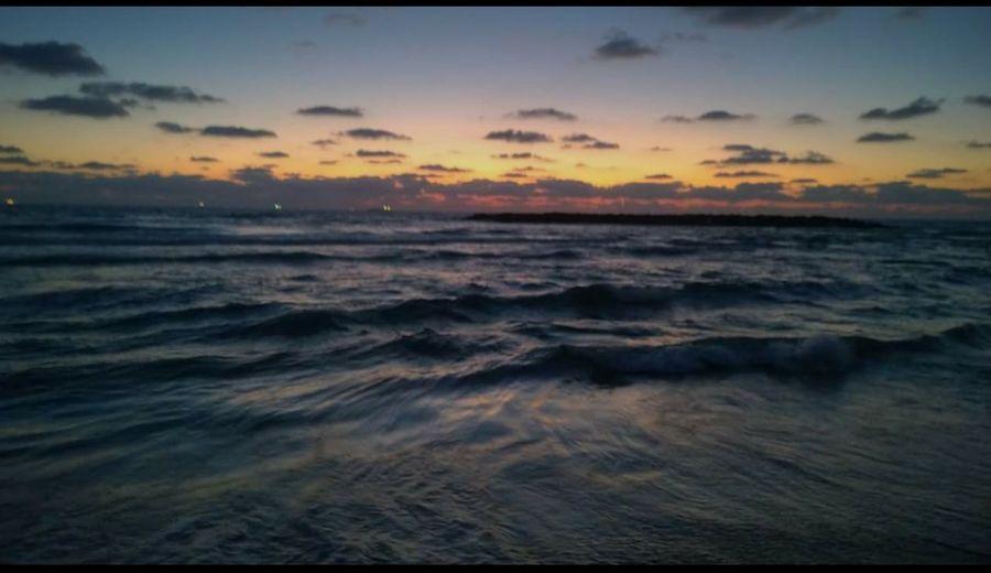 Sunset Clouds Ashkelon Israel