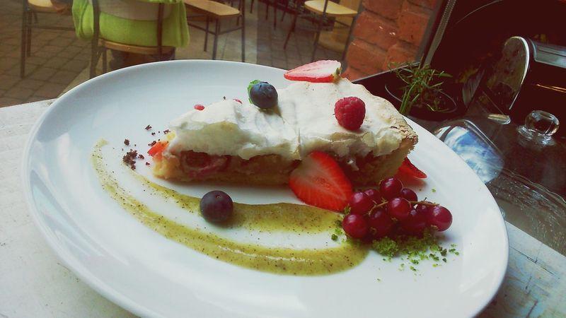 Rhubarb Cake Rhubarb Rhubarb Heaven  Rhubarb Tart Rhubarbcake Is Going To Happen Lodz Helo World Poland Work Polishgirl