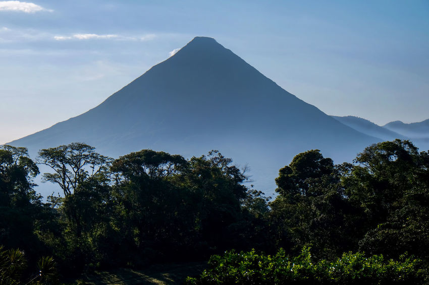 Costa Rica Costa Rica 🇨🇷 Volcanoes Volcanoes National Park Beauty In Nature Cone Shaped Day Ecology Ecology Class Landscape Mountain Nature No People Outdoors Scenics Sky Tranquil Scene Tranquility Tree Volcano