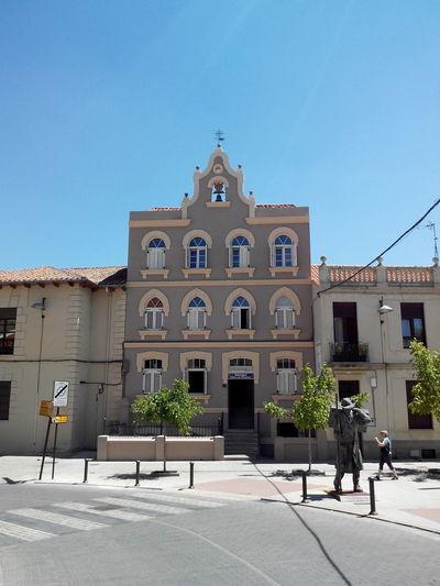 Astorga Blue Sky Building Camino CaminodeSantiago El Camino De Santiago Jakobsweg Pilgern Pilgrimage Refugio Spirituality