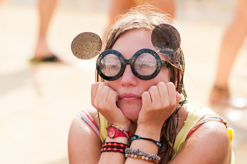 Alone Blond Cry Crying Day Girl Girls Glasses Israel Lonely Portrait Portrait Of A Woman Portraits Sun Telaviv WaterWar