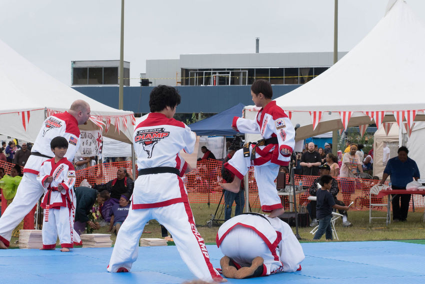50mm F1.8 Alaska Anchorage Centennial Celebration Champ Martial Arts D750 Day Nikon Outdoors Overcast Overcast Skies Performance Perspective Tae Kwon Do TKS