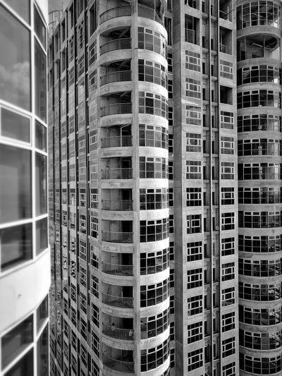 High-rise construction. Window Indoors  Business Finance And Industry Backgrounds Day No People Apartment Architecture City Black And White Friday