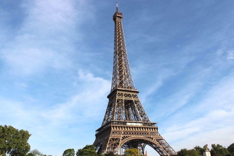 Paris. Low Angle View Architecture Tower Cultures Travel Destinations Travel Built Structure City Outdoors Day No People Monument Cloud - Sky Eiffel Tower EyeEmNewHere The Architect - 2017 EyeEm Awards The Great Outdoors - 2017 EyeEm Awards The Photojournalist - 2017 EyeEm Awards