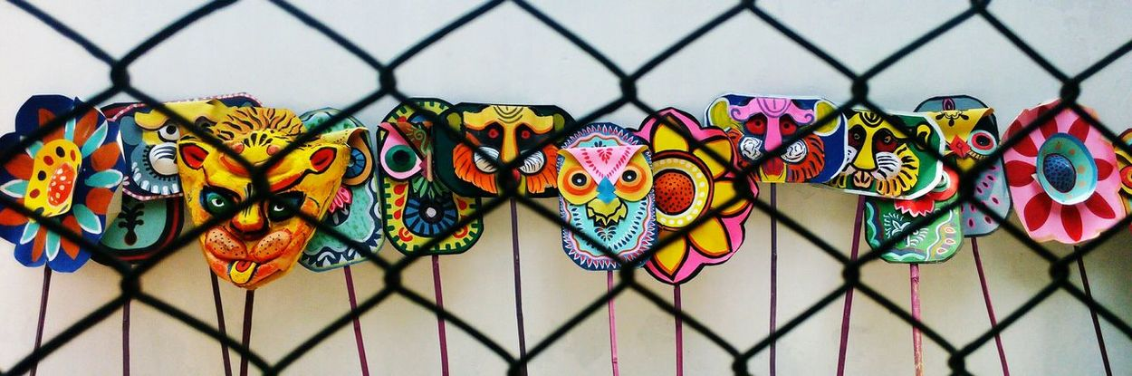 Multi Colored No People Safety Coulture EyeEm Diversity Bangladesh 🇧🇩 Peace EyEmNewHere Mobilephotography EyeEm ArtWork Bdcolture Colorful Mask Boishakhi coluture under custedy, Resist Art Is Everywhere