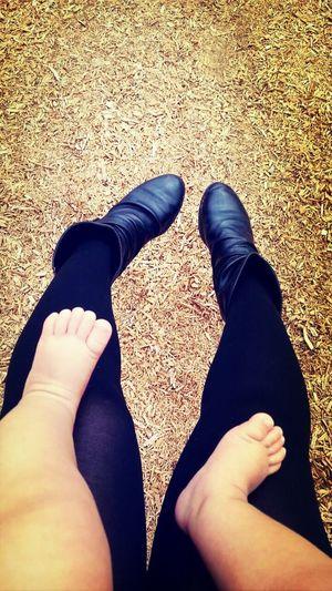 Park Swing Barefoot Baby