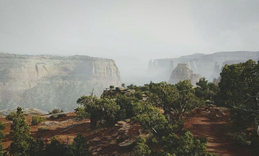 Hikes on foggy days Colorado Fruita Chill ItsK