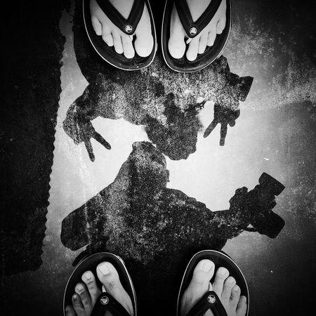 You • Me • Photography Blackandwhite Reflection Singapore EyeEm Little India Meetup Fromwhereistand