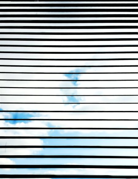 Pattern Blue Backgrounds No People Full Frame Close-up Indoors  Day Window Window Blinds Vertical Vertical Symmetry Vertical Lines Mini Blinds Blue Sky Background Light And Shadow Lines Shapes Design Inside Looking Out View From Inside Interior Design Window View Window Designs Window Dressing