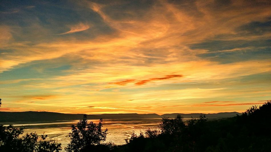Scotland River Clyde River View Sunset_collection Sunset Sunrise_sunsets_aroundworld Sunset Silhouettes Dumbarton Shore Scenic View