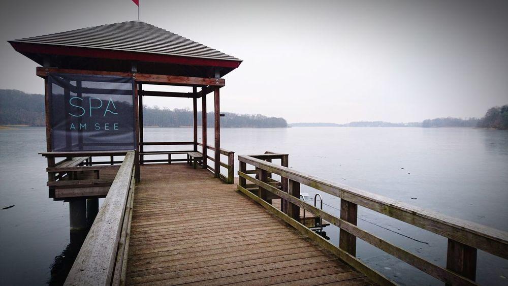 Müritzsee Hotel Amsee Wellness Spa Frozen Lake