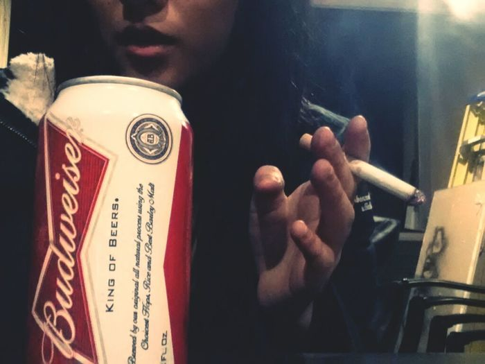 first & last stoggie of the year. (quitting)  Drinking Beer Selfie New Years Cigarettes Asian  Welcome 2013 Beer