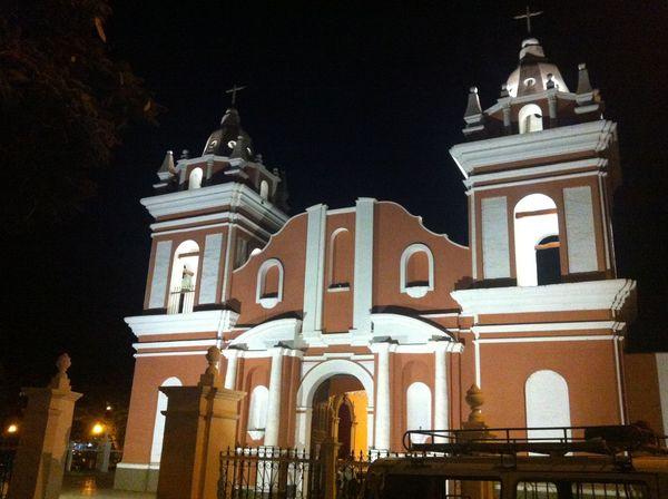 Architecture Church Lunahuana Night Summer Travel Destinations