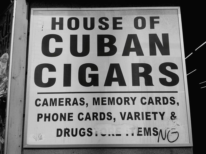 Drugs No Cigars Cigarette  Drugstore Cuban America Niagara Niagara Falls Niagara USA Misunderstanding Open Your Eyes Mind  Guilty Thing USAtrip USA Photos Journey Text Communication No People Day Outdoors Close-up