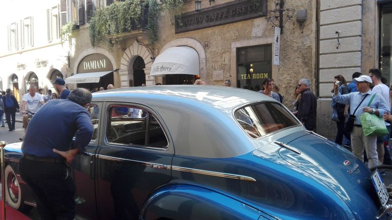 Caffè Greco Rome Rome Italy Rome Streetphotography Street Photography Storic Esclusive Beutiful  No Filters Or Effects Hello World Via Condotti Rome Old Car Beautiful Chic In Rome