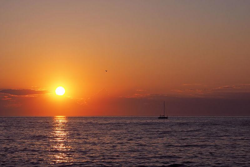 Adriatic sea in