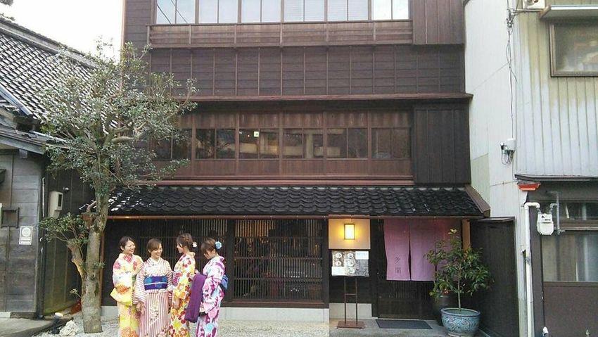 金沢ひがし茶屋街 2017お正月の散歩 金沢東茶屋街 Kanazawa City,Japan Higashichayagai Scenery Landscape Architecture Ceremony Women Day People Adult Adults Only
