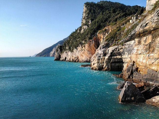 Portovenere Golfo Dei Poeti Grotta Byron Laspezia