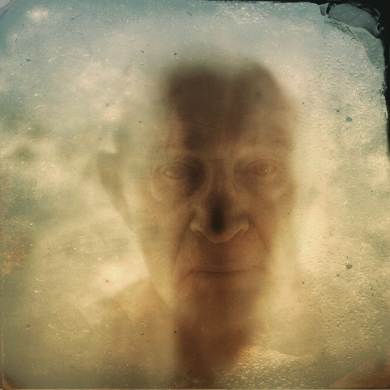 one person, spooky, real people, indoors, close-up, human face, men, day, young adult, people