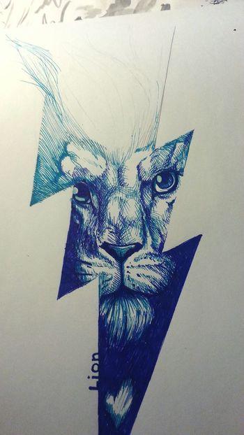 Art Sketch Lion Lighting Drawing Ulan-Ude Animal