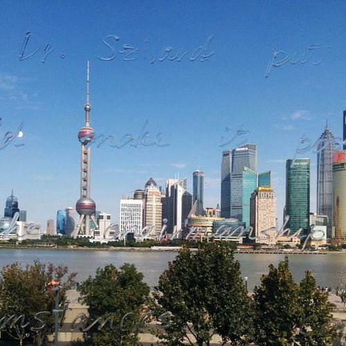 Thebund #Shanghai Art Exhibition Ilobster Amazing Window Sky Blue