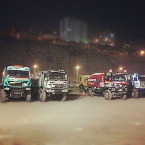 Amor x los camiones Dakar2013 Rally Todopasion Desert peru igersperu igers 05January instagramperu