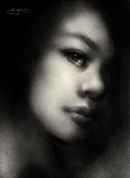 portrait drawing Portrait Drawing ArtWork Art Blackdrawing