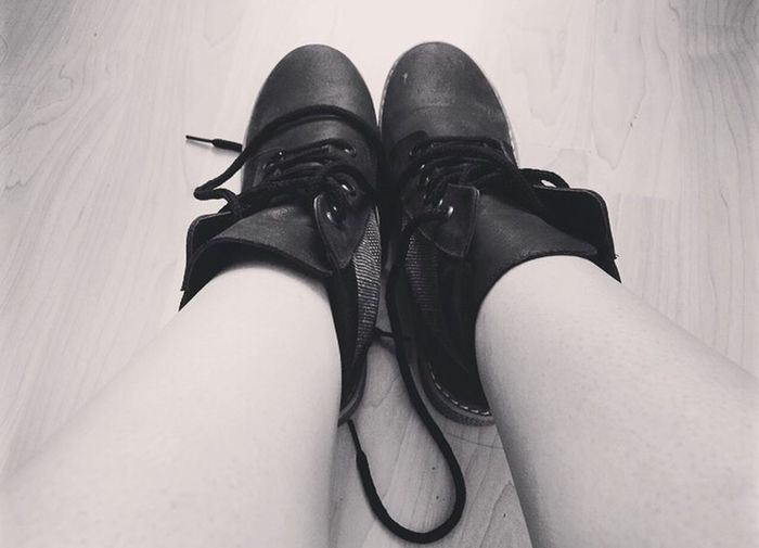 Shoes Zapatos Negro Black And White Blackandwhite Blanco & Negro  Blancoynegro Blanco Y Negro Black Blanco Boots Botas