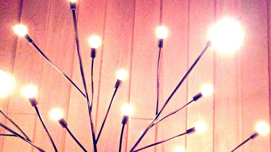 Wine Gala Lights Glow Contrast