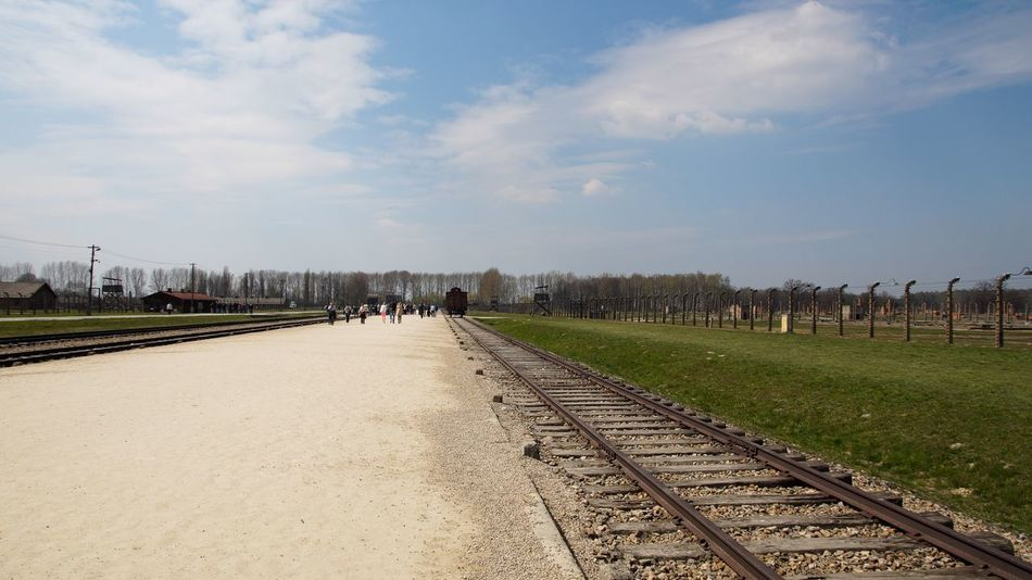 Auschwitz Birkenau Birkenau Memorial Holocaust Holocaust Memorial Memorial Poland Polen Railroad Track Rails Train Gedenkstätte Taking Photos Wagon  Traveling Gedenken Photooftheday