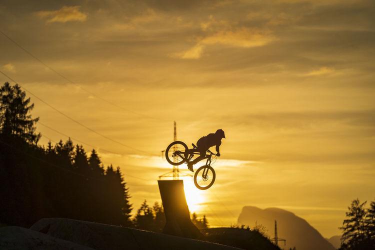 Riding the sun