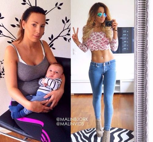 it's amazing how she lost weight after Pregnancy💕💕💕💕💕💕