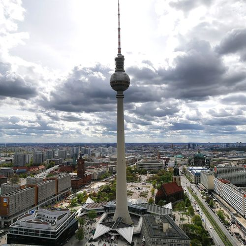Architecture Cityscape City Urban Skyline Tower Cloud - Sky High Angle View Berlincity Berlin, Germany  Berlin Life Berlintourist Berlinplaces Travelphotography Travel Destination The Architect - 2017 EyeEm Awards The Photojournalist - 2017 EyeEm Awards The Great Outdoors - 2017 EyeEm Awards