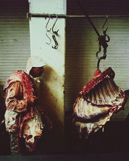ElCarnicero Butcher Meat Market Meat Love Meat Yesideljach Hanging