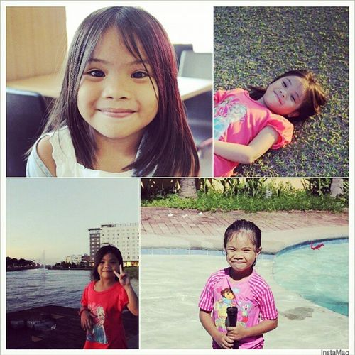Happy 6th birthday my love. Please don't grow up too fast. Love you much! 💖💖💖 17Feb2015 MMMento