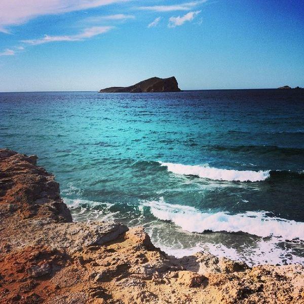 La maravillosa isla de ibiza. Ibiza Calacompte Paisaje Beautiful